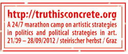 Truth is concrete: the steirischer herbst festival in Graz