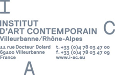 Saâdane Afif at the Institut d'art contemporain, Villeurbanne/Rhône-Alpes