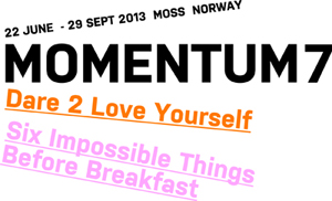 MOMENTUM 7: the Nordic Biennial of Contemporary Art